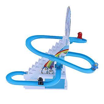 Penguin Race Track Playset Toddler Ramp Racer Toy