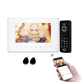 Wifi Wireless Video Intercom System For Home Villa Apartment With Password