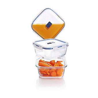 Set of lunch boxes Luminarc Pure Box Active (3 pcs) Crystal