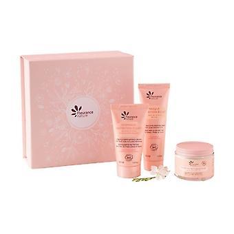 Intense nutrition box: cream + mask + gentle scrub 3 units of 50ml
