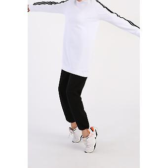 Comfy Striped Sweatshirt Tunic