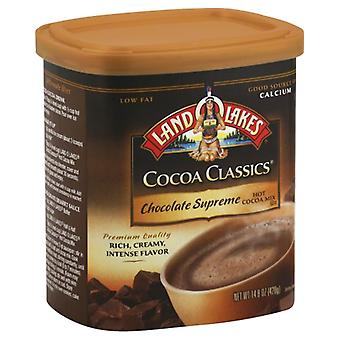 Land O Lakes Mix Cocoa Choc Sprme Cnst, Case of 6 X 14.8 Oz