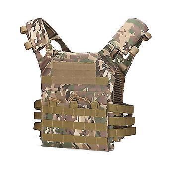 Lightweight Tactical Jpc Vest Jacket Multi-function Camouflage Amphibious Combat Jpc Vest
