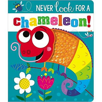 Never Look for a Chameleon by Ltd Make Believe Ideas & Rosie Greening & Illustrated by Stuart Lynch