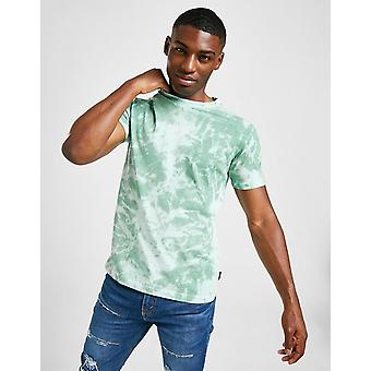New STATUS Men's Hue Short Sleeve T-Shirt from JD Outlet Green