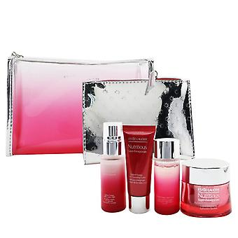Nutritious Super-pomegranate Reveal A Rosy Radiance Set: Moisture Creme+ Milky Lotion Light+ Lotion+ Cleansing Foam ...