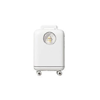 High quality 210ml trunk snowman shape air humidifier essential oil diffuser white #4426