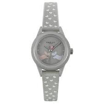 Radley Ry21257 Grey Dial Rubber Strap Ladies Watch