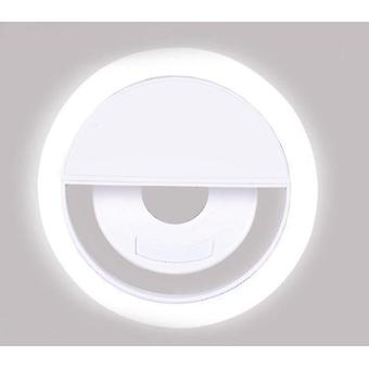Selfie Ring Light, Matkapuhelin Clip Lens Uutuusvalot