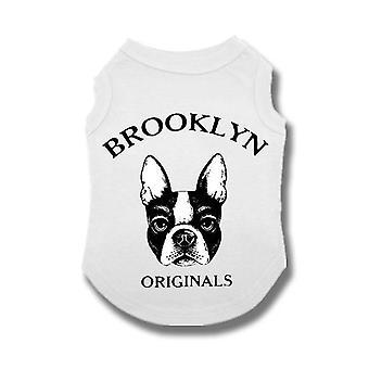 Söpö vaatteet liivi paita pienille keskikokoinen ranskanbulldoggi ulkoilupuvut