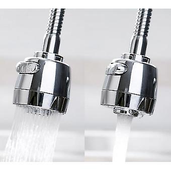 360 Degree Adjustable Flexible Metal Faucet Nozzle For Kitchen Sink