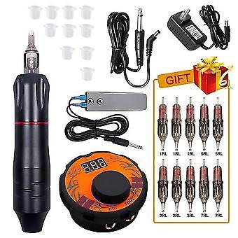 Professionel Tattoo Rotary Patroner Machine Mini Power Set Tattoo Studio