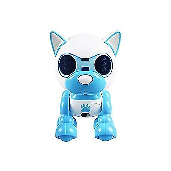 Robotic toys halolo electronic smart robot dog puppy pet robot toy robots for toys for children|rc robot blue