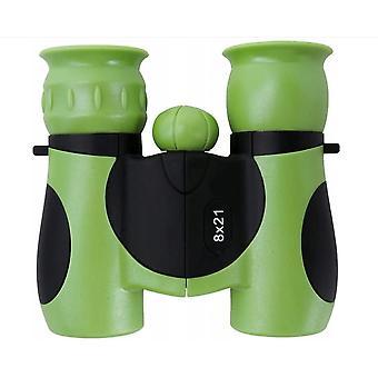 Brinquedo portátil 8*21 Binóculos para crianças viajando (verde)