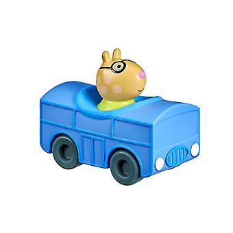 Pig Pig Pigs George Pig Pedro Small Marybeck Rabbit Grandpa Pig Robi Ribbal Car Animation Doll Toy Car