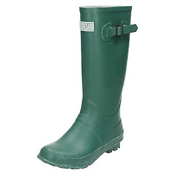 Boys Malvern Buckle Detail Wellington Boots