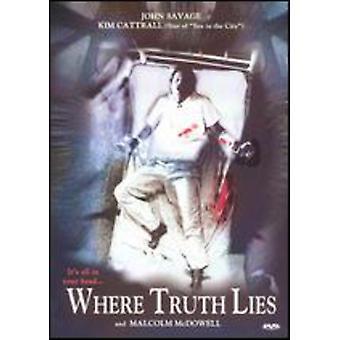 Where Truth Lies [DVD] USA import
