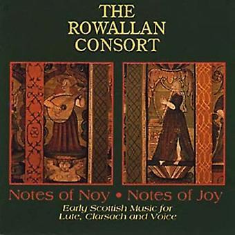 Rowallan Consort - Notes of Nov. Notes of Joy [CD] USA import