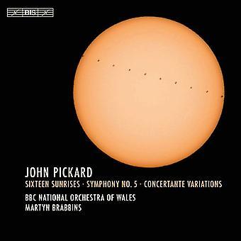 Pickard / BBC National Orchestra of Wales - John Pickard: importación de Estados Unidos dieciséis amaneceres [SACD]