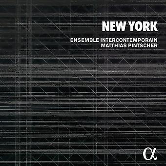 Ensemble Intercontemporain / Pintscher, Matthias - New York: Varese Carter Fulmer Shepherd Reich bur Feldman [CD] USA import