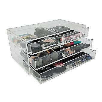 OnDisplay Marci Handmade Acrylic 4 Drawer Cosmetic/Jewelry Organizer