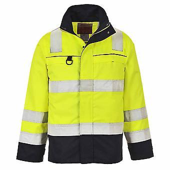 Portwest - Hi-Vis Flame Resist Safety Workwear Multi-Norm Jacke