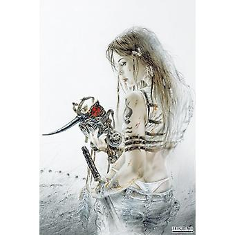 Sketch Poster Poster Print by Luis Royo