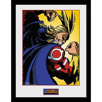 My Hero Academia All Might Framed Collector Print 40x30cm