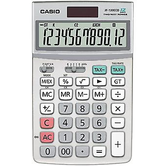 Casio Eco Desktop 12 Digit Calculator (Model No. JF120ECO-W)