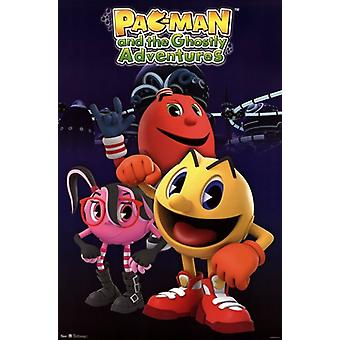 Pac-Man - Group-Plakat-Druck
