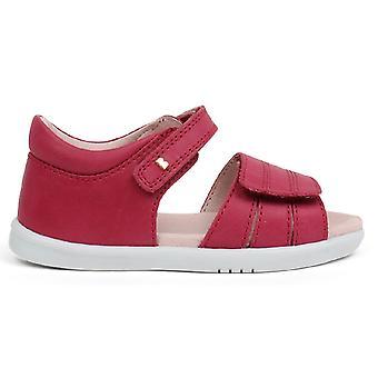 Bobux I-walk Girls Hampton Sandals Dark Pink