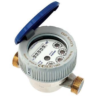 """1/2"""" 3/4"""" BSP холодной воды расходомер сингл Jet полусухое циферблат защищены рулонов"""