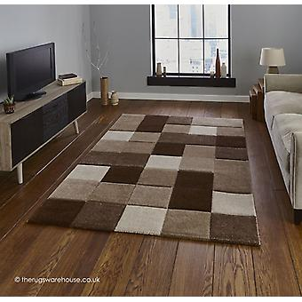 Nordia Beige Braun Teppich