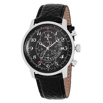 Burgmeister BM541-122 Temecula, Gents watch, Analogue display, Quartz with Citizen Movement - Water resistant, Stylish leather strap, Classic men's watch