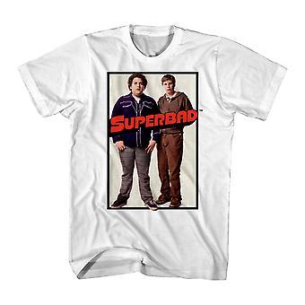 Super Bad Duo Poster Men's White T-shirt