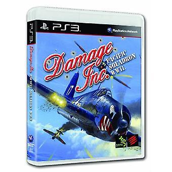 Damage Inc.  Pacific Squadron WWII (PS3)-fabriek verzegeld
