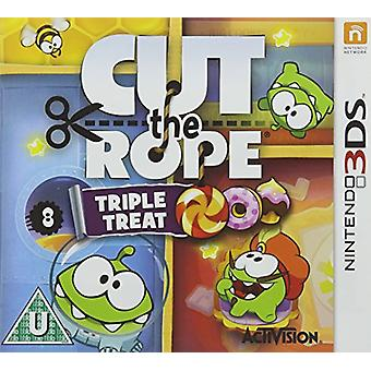 Cut the Rope Triple Treat (Nintendo 3DS) - New