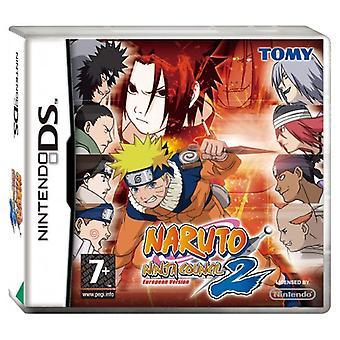 Naruto Ninja Council 2 (Nintendo DS) - Como novo