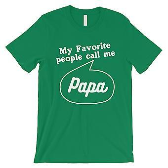 Suosikki soita Papa miesten vihreä paita