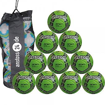 10 x Uhlsport youth ball - INFINITY 290 ULTRA LITE 2.0 includes ball sack