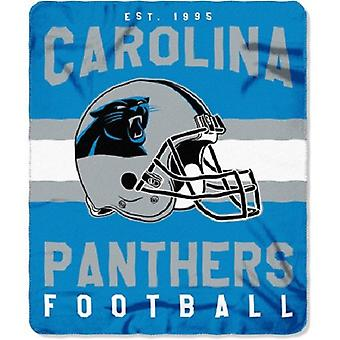 Carolina Panthers NFL Northwest Team Stripe fleece hodiť