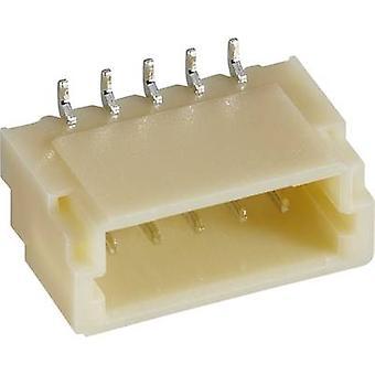 الضميمة رقم Pin JST-SH ثنائي الفينيل متعدد الكلور العدد الإجمالي لتباعد الاتصال دبابيس 3: 1 مم BM03B-SRSS-مركبات ثلاثي بوتيل القصدير (LF)(SN) 1 pc(s)
