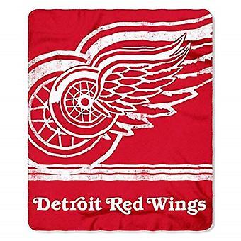 Detroit Red Wings NHL Northwest Fleece Throw