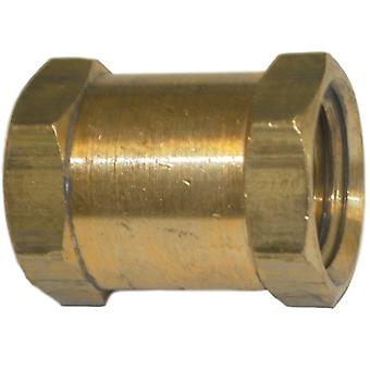Big A Service Line 3-20360 Brass Fitting, Hose Coupling 3/8