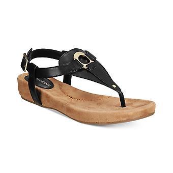 Giani Bernini Womens Raisaa Open Toe Casual T-Strap Sandals