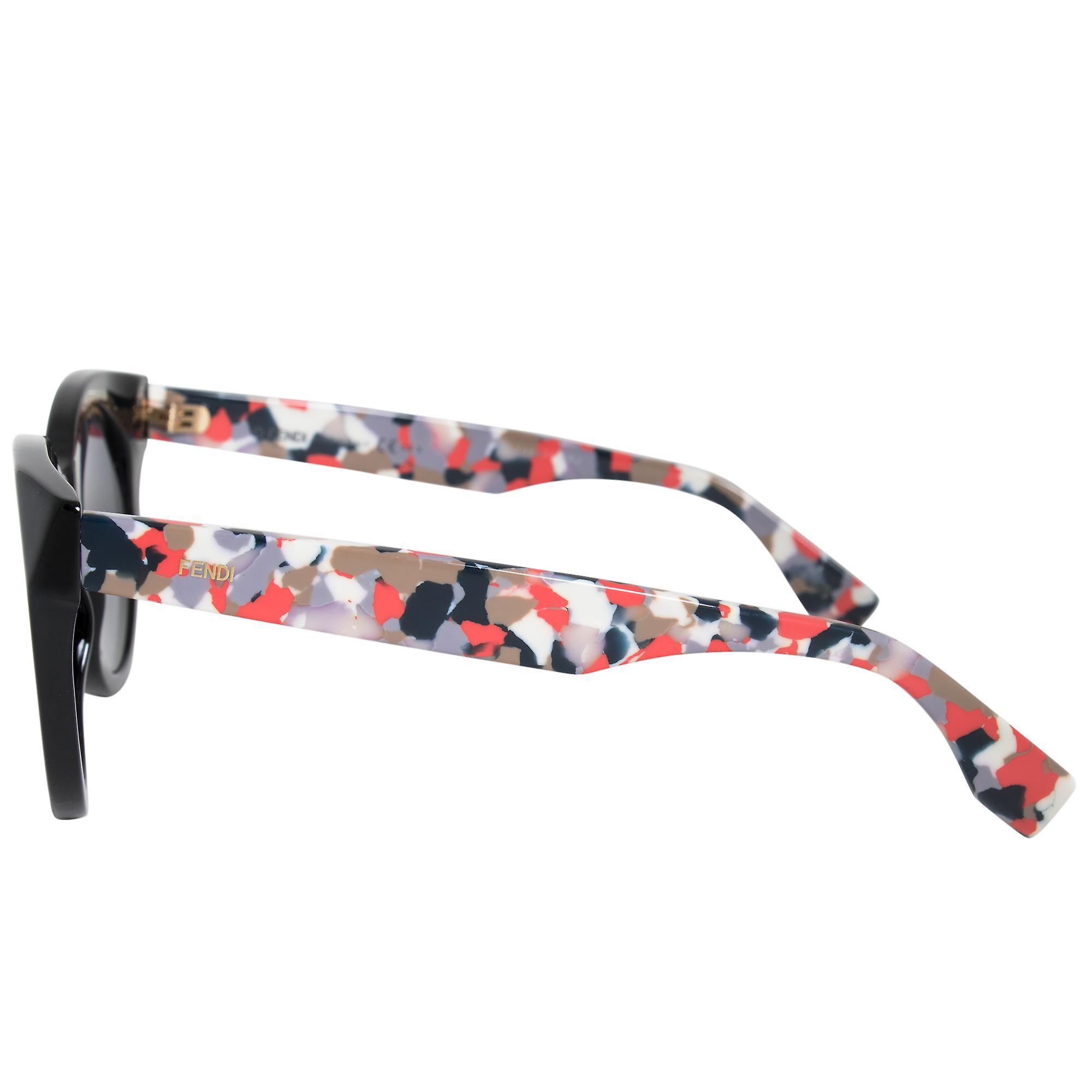 Fendi Cat Eye Sunglasses FF0203S 738 HD 50