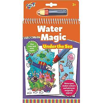 Galt vand Magic Under havet, farvning bog for børn