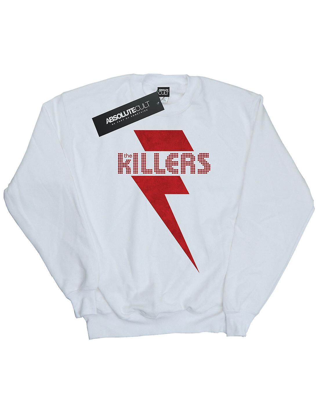 The Killers Girls Red Bolt Sweatshirt