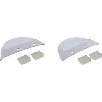 Ala AXV414604WHP de Hayward y zapato Combo Kit de mantenimiento - blanco