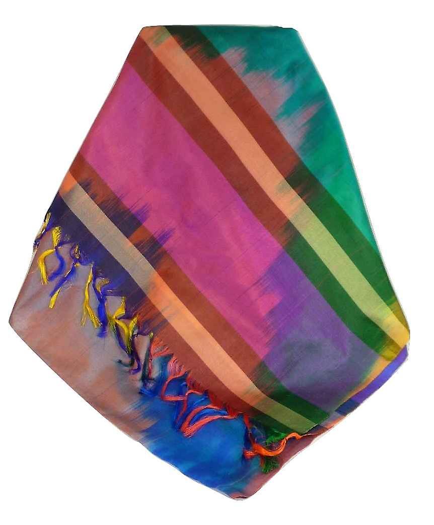 Varanasi Ekal Premium Silk Long Scarf Heritage Range Narayan 7 by Pashmina & Silk